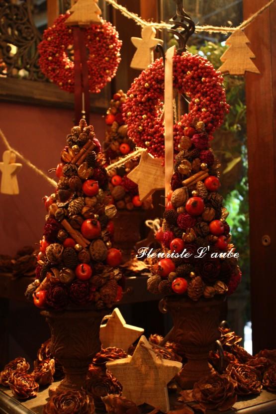 クリスマスリース&ツリーアレンジ