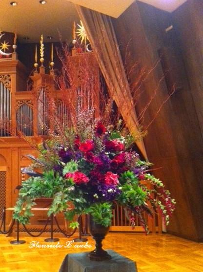 オペラコンサート装花